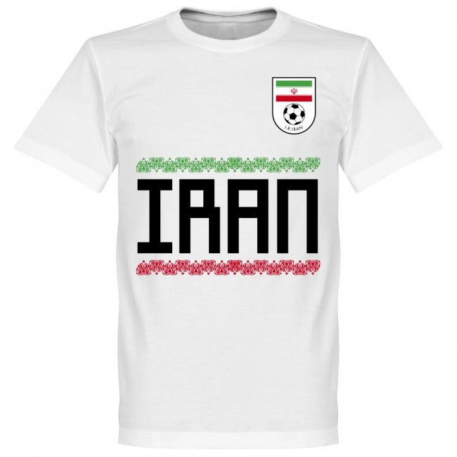 Iran Ghoddos 15 Team T-Shirt - White