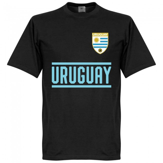 Uruguay Godin 3 Team T-Shirt - Black