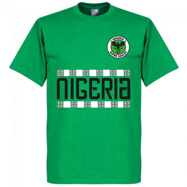 Nigeria Iwobi 18 Team T-Shirt - Green