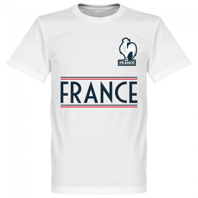 France Mbappe 10 Team T-Shirt - White