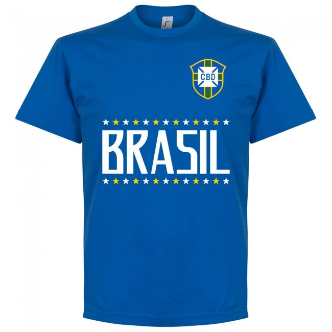Brazil G. Jesus 9 Team T-Shirt - Royal