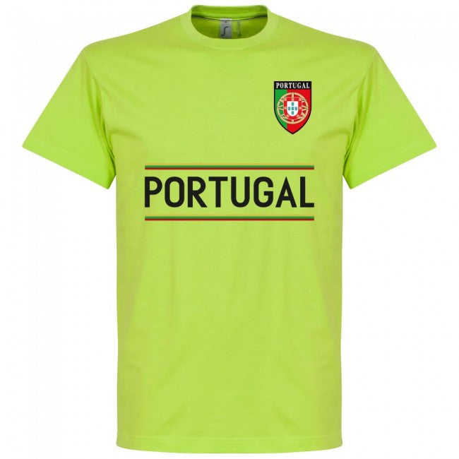Portugal Rui Patricio 1 Team T-Shirt - Apple Green