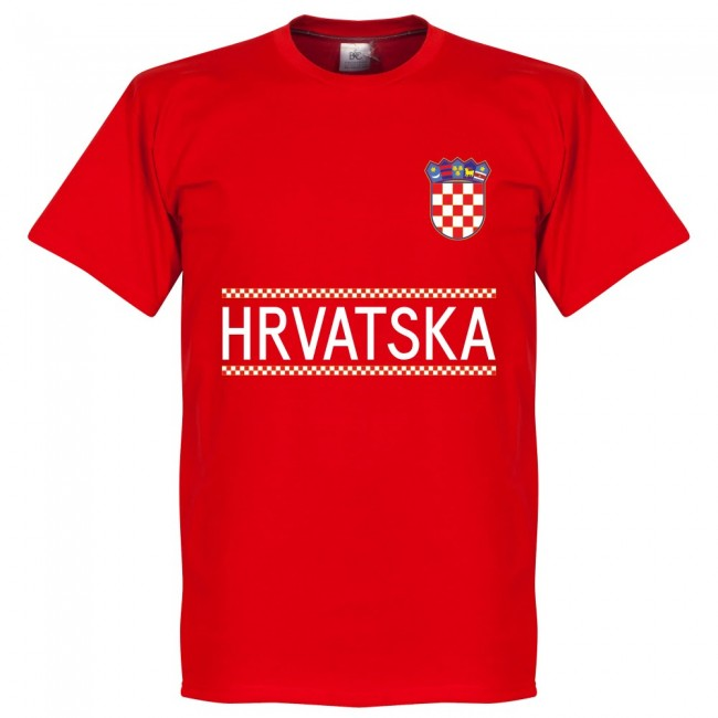 Croatia Kramaric 9 Team T-Shirt - Red