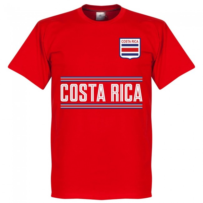 Costa Rica C.Borges 5 Team T-Shirt - Red