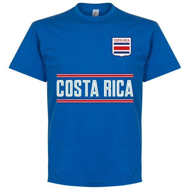 Costa Rica Campbell 9 Team T-Shirt - Royal