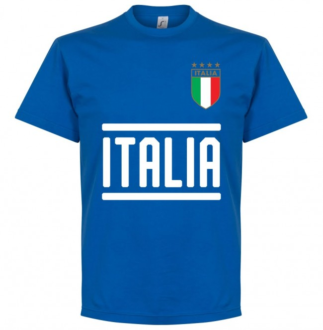 Italy Insigne 10 Team T-Shirt - Royal