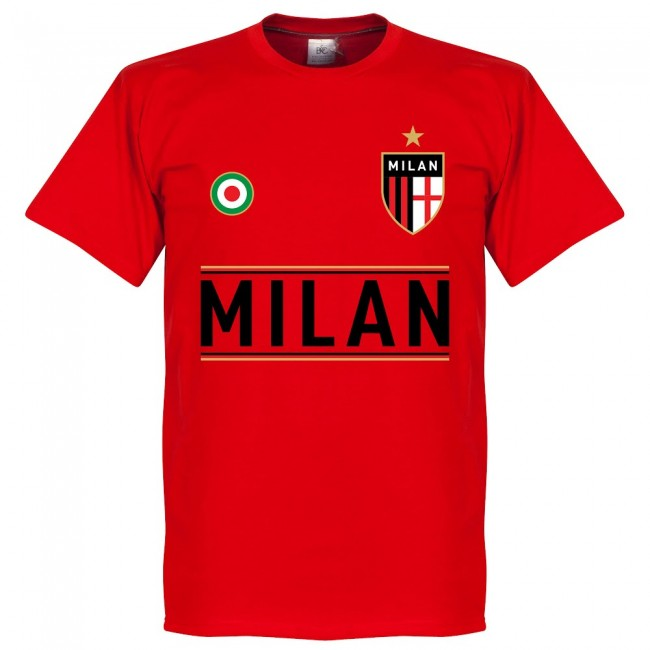 AC Milan Savicevic 10 Team T-Shirt - Red