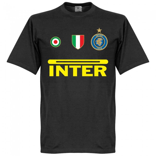 Inter Nagatomo 55 Team T-Shirt - Black