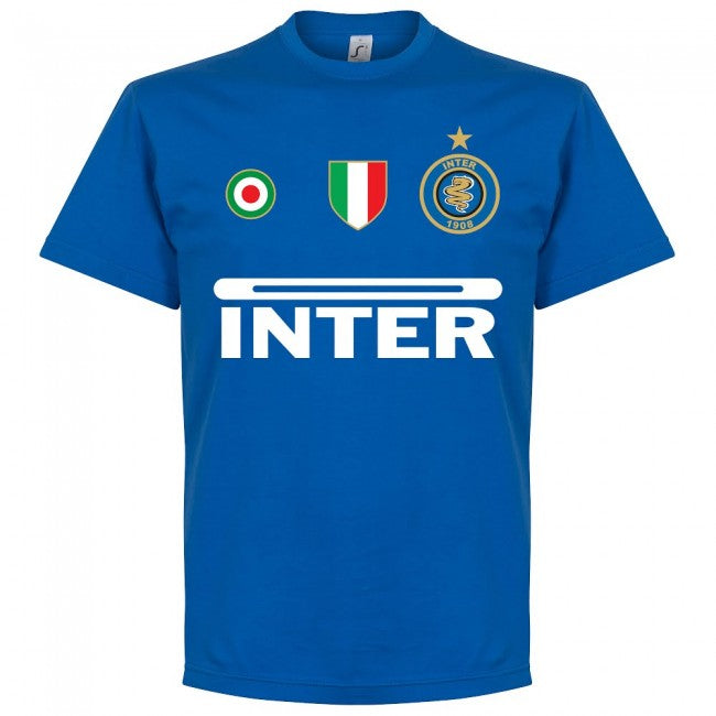 Inter Zanetti 4 Team T-Shirt - Royal