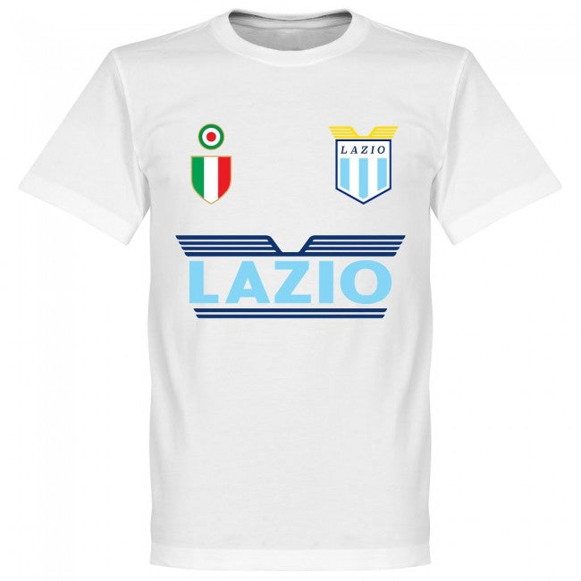 Lazio Di Canio 9 Team T-Shirt - White
