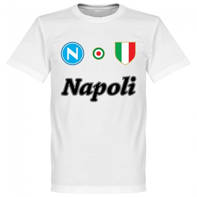 Napoli H. Lozano 11 Team T-Shirt - White