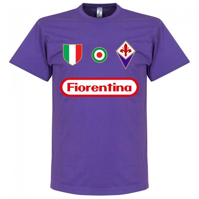 Fiorentina Rui Costa 10 Team T-Shirt - Purple