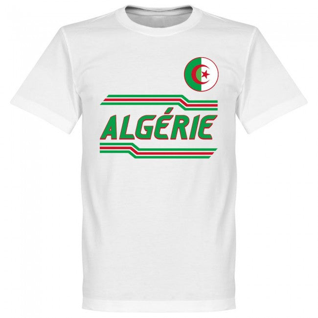 Algeria Mahrez 7 Team T-Shirt - White