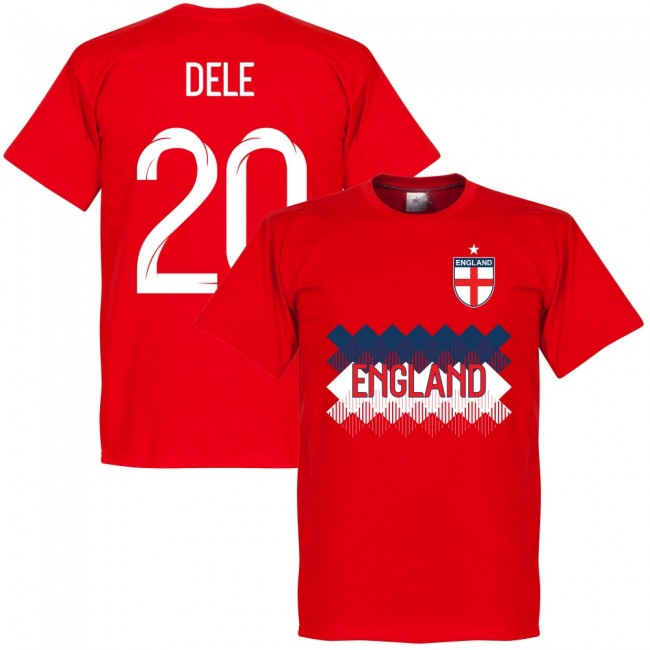 England Dele 20 Team T-Shirt - Red