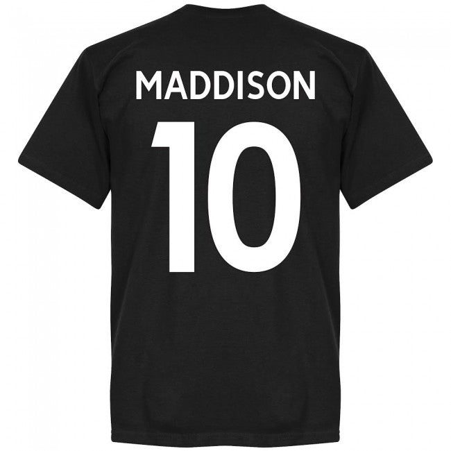Leicester Maddison 10 Team T-Shirt - Black