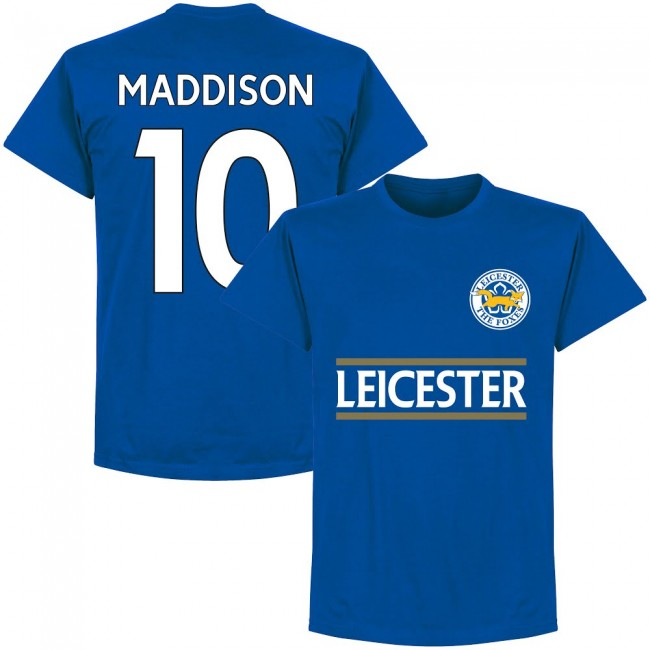 Leicester Maddison 10 Team T-Shirt - Royal