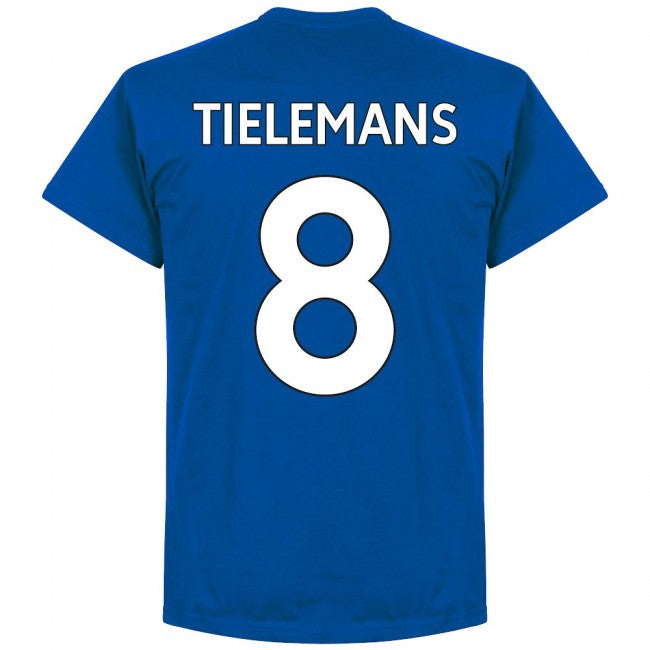 Leicester Tielemans 8 Team T-Shirt - Royal