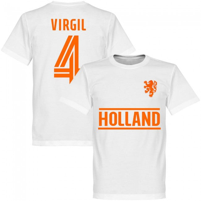 Holland Virgil Team T-Shirt - White