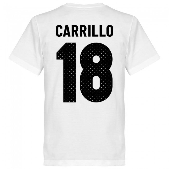 Peru Carrillo 18 Team T-Shirt - White