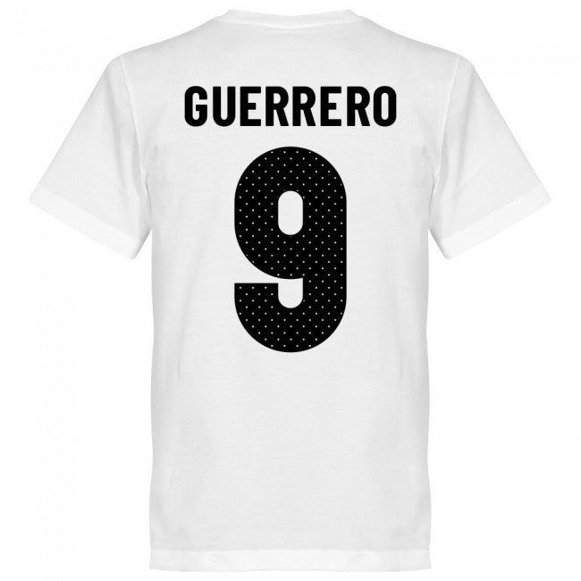 Peru Guerrero 9 Team T-Shirt - White