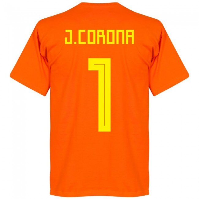 Mexico J. Corona 1 Team T-Shirt - Orange