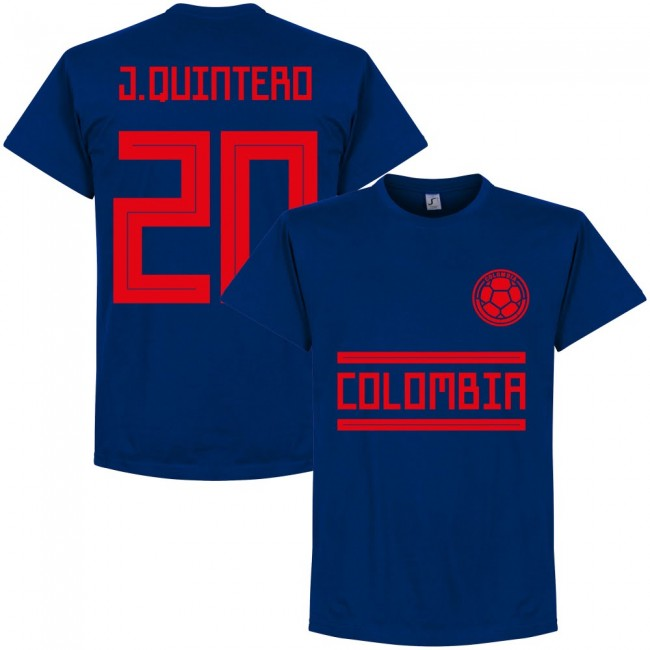 Colombia J. Quintero 20 Away Team T-shirt - Ultra