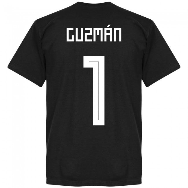 Argentina Guzman 1 GK Team T-shirt - Black