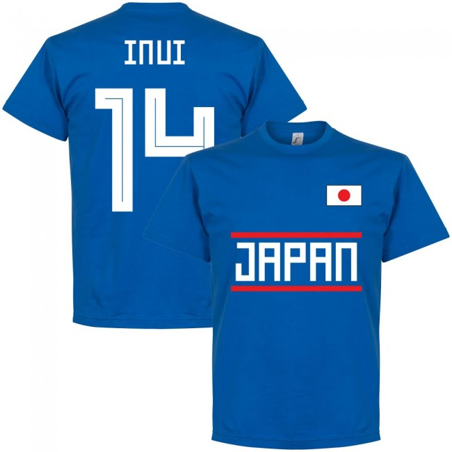 Japan Inui 14 Team T-Shirt - Royal