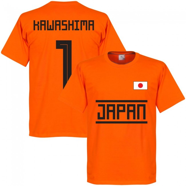 Japan Kawashima 1 Team GK T-shirt - Orange