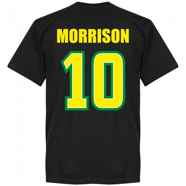 Jamaica Morrison 10 Team T-Shirt - Black