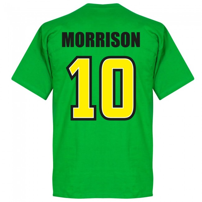 Jamaica Morrison 10 Team T-Shirt - Green