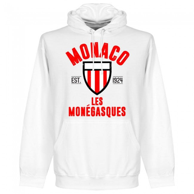 Monaco Established Hoodie - White - Terrace Gear