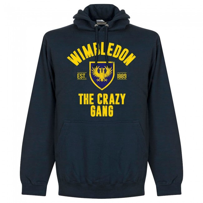 Wimbledon Established Hoodie - Navy - Terrace Gear