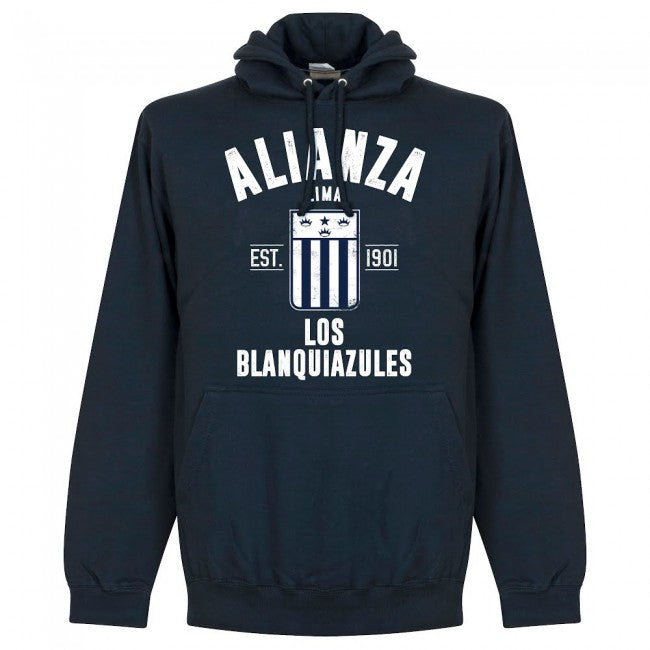 Alianza Lima Established Hoodie - Navy - Terrace Gear