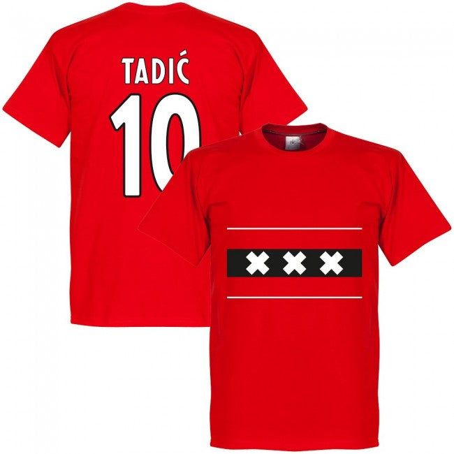Amsterdam Team Tadic 10 T-Shirt - Red