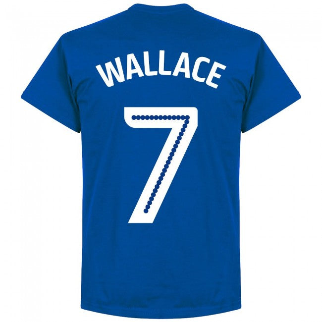 Millwall Wallace 7 Team T-Shirt - Royal