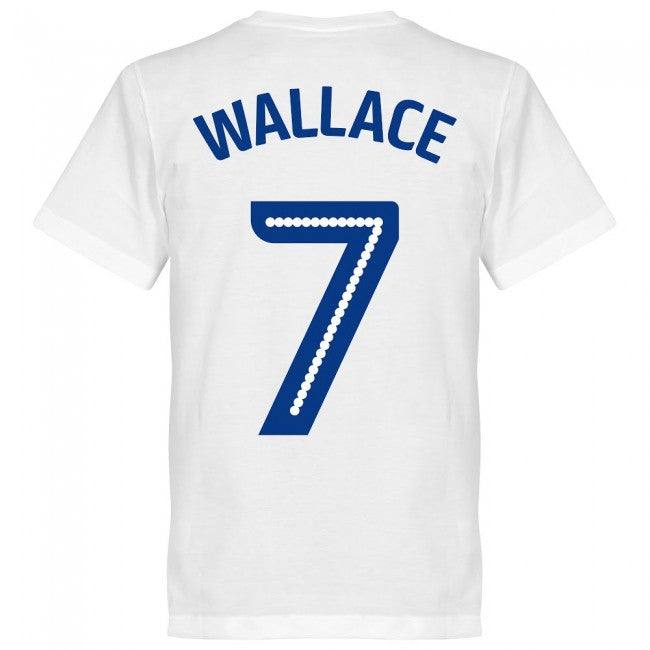Millwall Wallace 7 Team T-Shirt - White