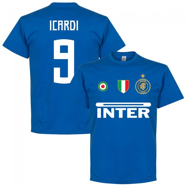 Inter Icardi 9 Team T-Shirt - Royal