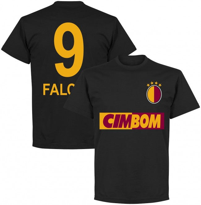 Galatasaray Falcao Team T-Shirt - Black