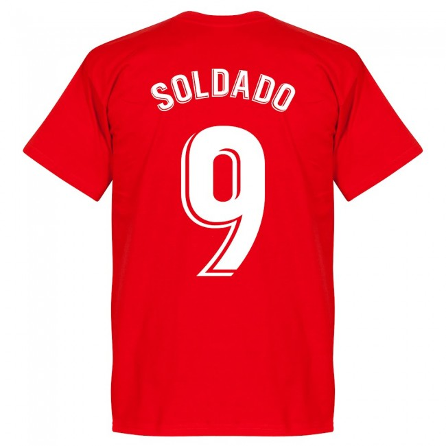 Granada Soldado 9 Team T-Shirt - Red