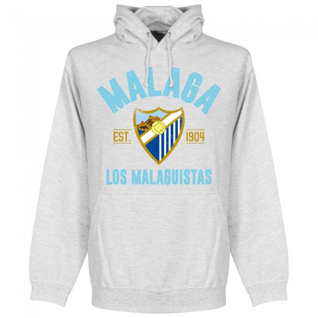 Malaga Established Hoodie - Ash - Terrace Gear