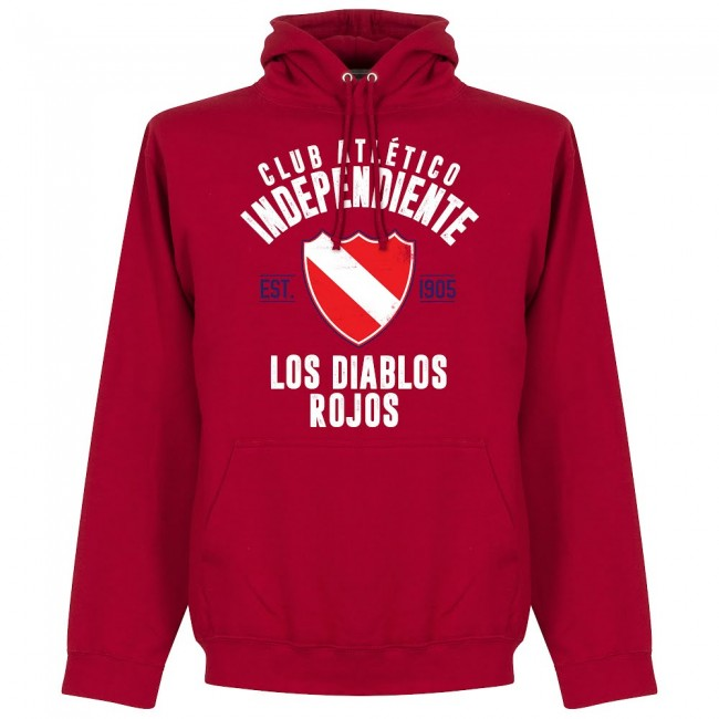 Independiente Established Hoodie - Red - Terrace Gear