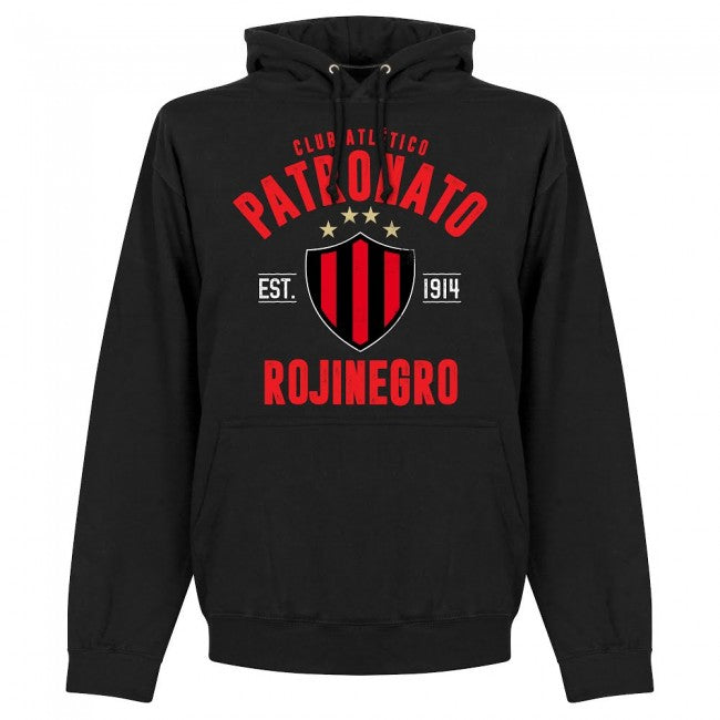 Patronato Established Hoodie - Black - Terrace Gear