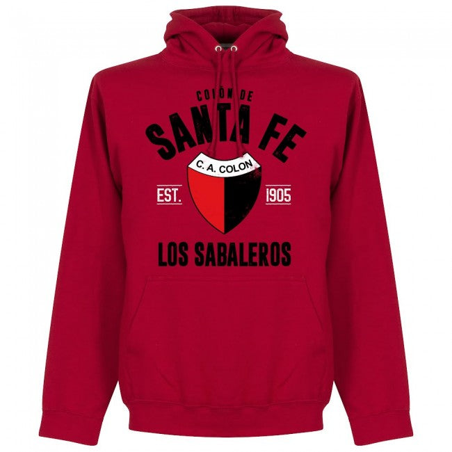 Colon de Santa Fe Established Hoodie - Red - Terrace Gear