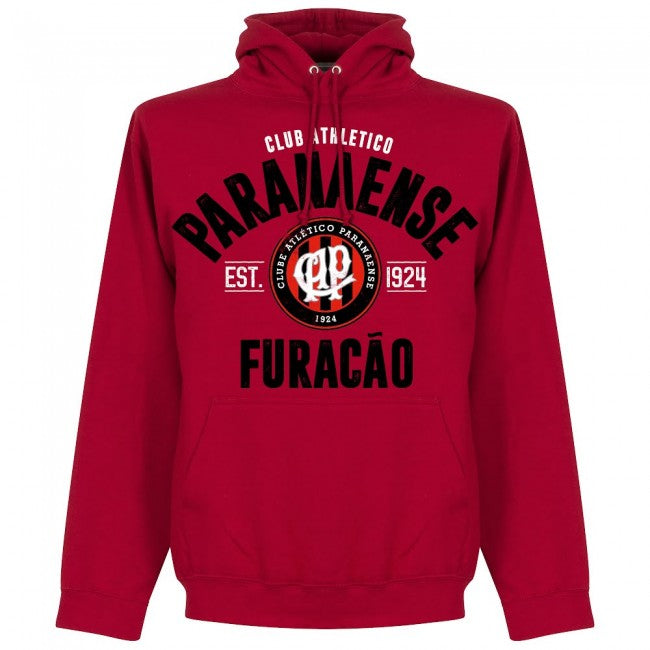 Atletico Paranaense Established Hoodie - Red - Terrace Gear