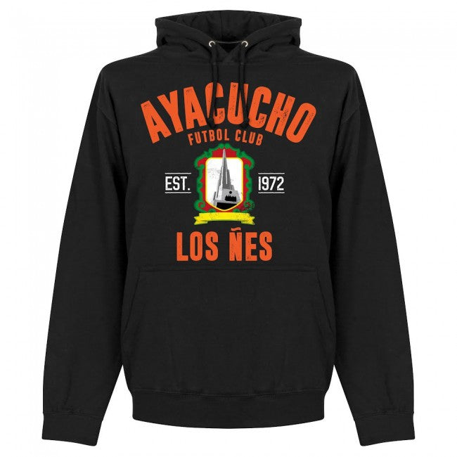 Ayacucho Established Hoodie - Black - Terrace Gear
