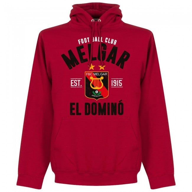 Melgar Established Hoodie - Red - Terrace Gear