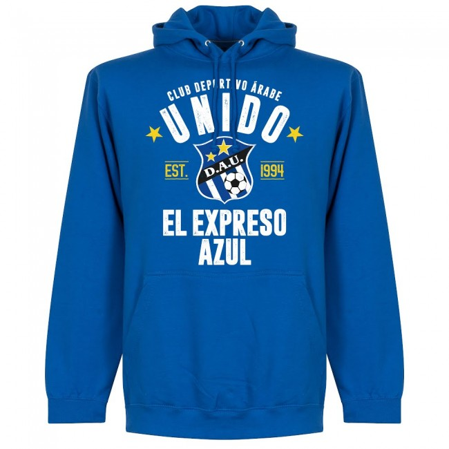 Arabe Unido Established Hoodie - Royal - Terrace Gear