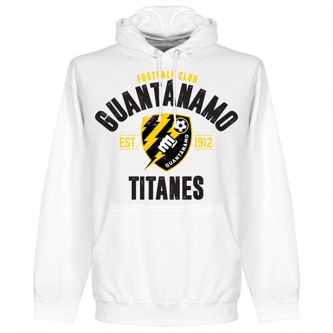 FC Guantanamo Established Hoodie - White - Terrace Gear