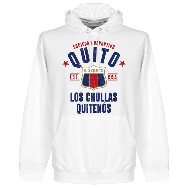Quito Established Hoodie - White - Terrace Gear